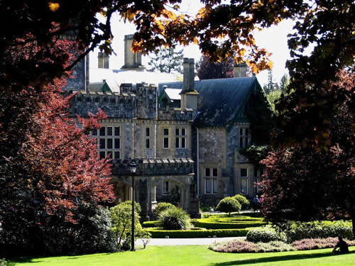 Hatley Castle National Historic Site Victoria BC