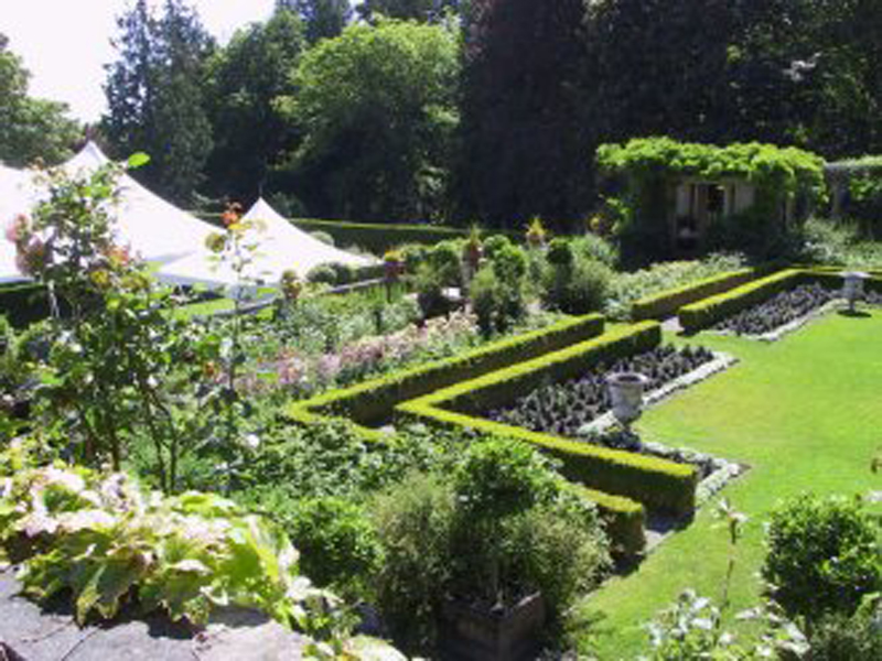 Hatley Castle National Historic Site Victoria BC - Italian Garden