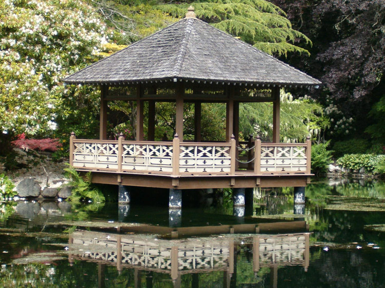 Hatley Castle National Historic Site Victoria BC - Japanese Garden